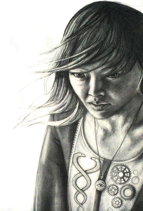 Entropy, 2010, graphite paper